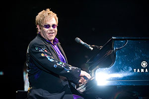 Elton John Playing in Kelowna