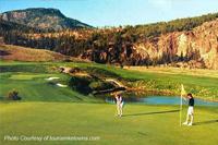 Golfing in Kelowna
